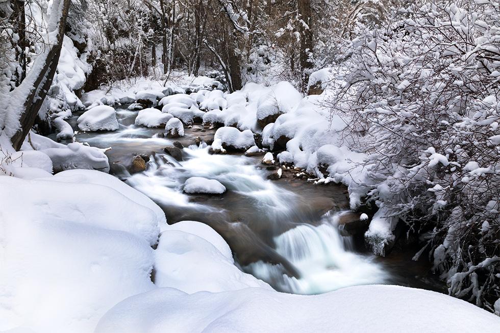 Snowy Falls 1