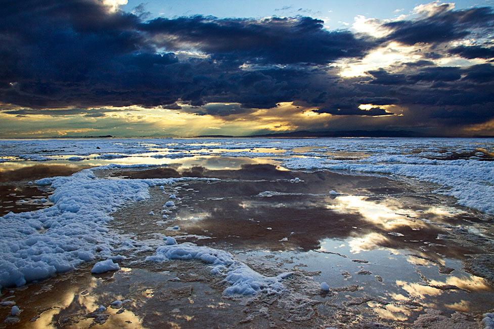 Salt Foam Sunset 2
