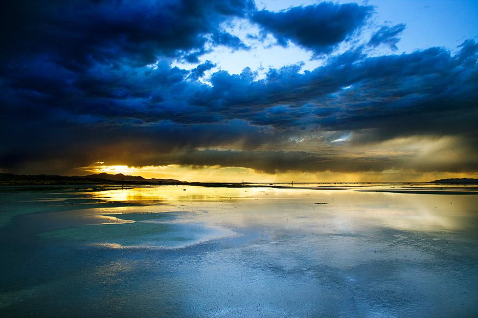 Salty Sunset