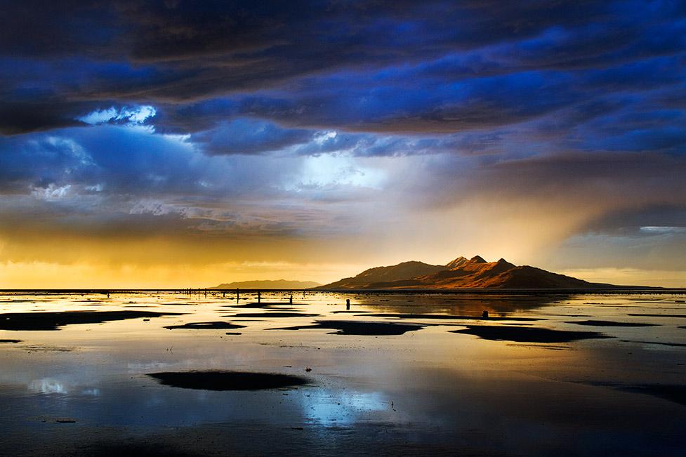 Antelope Island Sunset