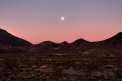 Death Valley Moonrise