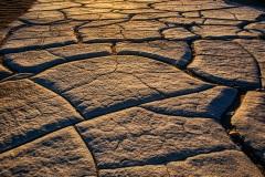 Cracked Death Valley Dunes