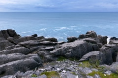 Pancake Rocks in Blue