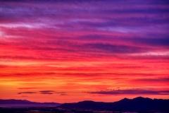 Salt Lake Sunset ROYBIV